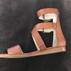 9e53bac59d6b Michael Kors Shoes - NWT Michael Kors Josephine Flat Gladiator Sandals